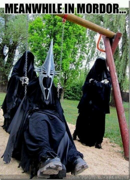 Swings make anyone happy