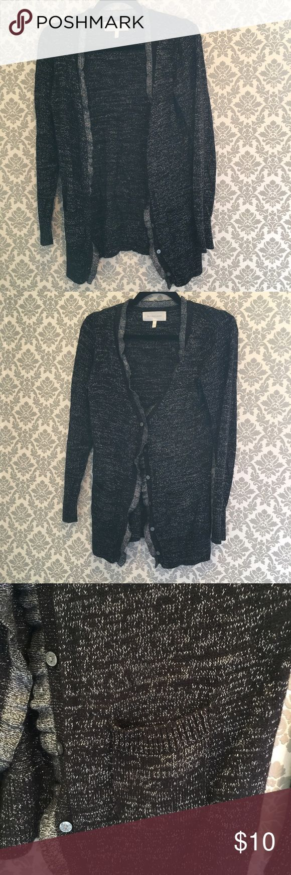 Black and silver cardigan Black and silver cardigan Sweaters Cardigans
