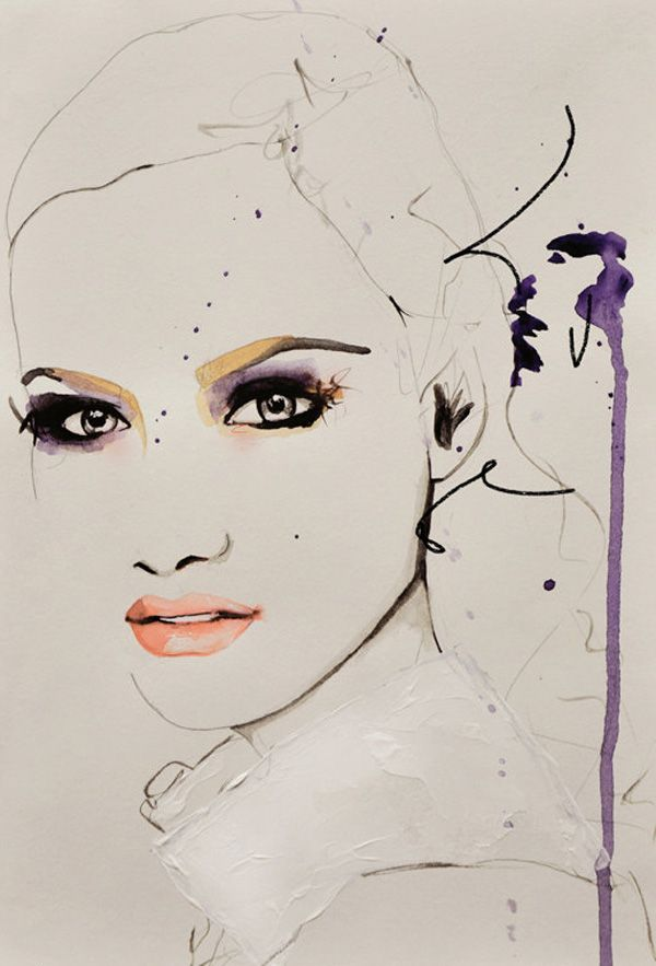 Fashion Illustrations by Leigh Viner
