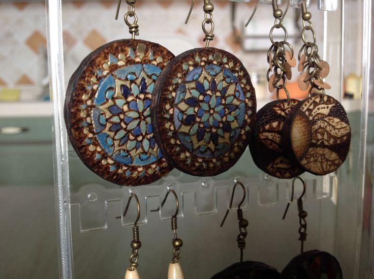 Orecchini acquistati dal sito di Daniela Galiano www.leombredelfuoco.it