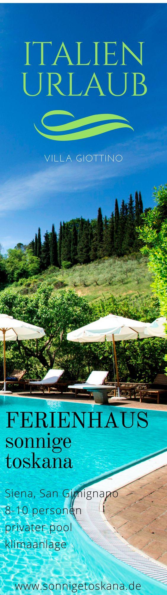 Villa Giottino Villa, Italien, Toskana, Provinz Siena, San Gimignano, 8-10 Personen, Privater Pool, Klimaanlage