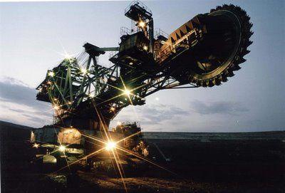 Bagger288 - A Maior Escavadeira do Mundo.