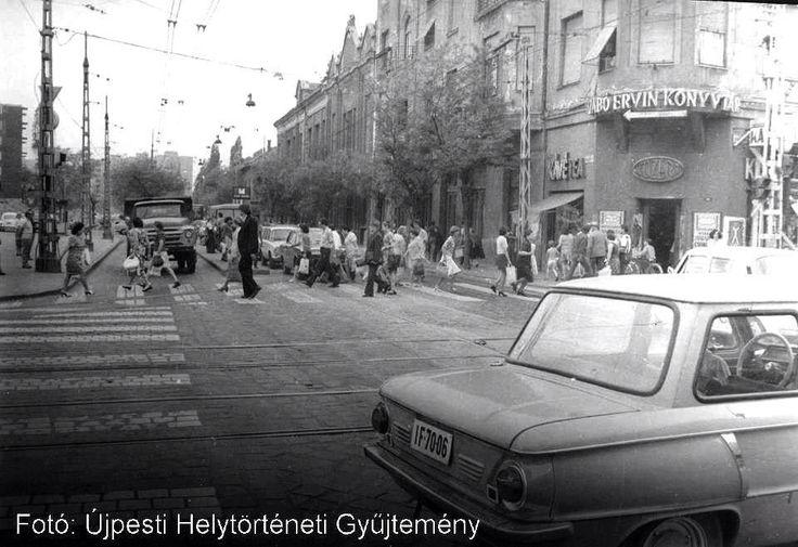 Újpest centrum cirka 1975.