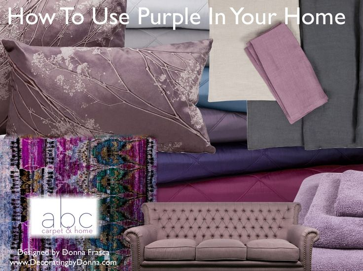 119 best color: purple home decor images on pinterest | home, live