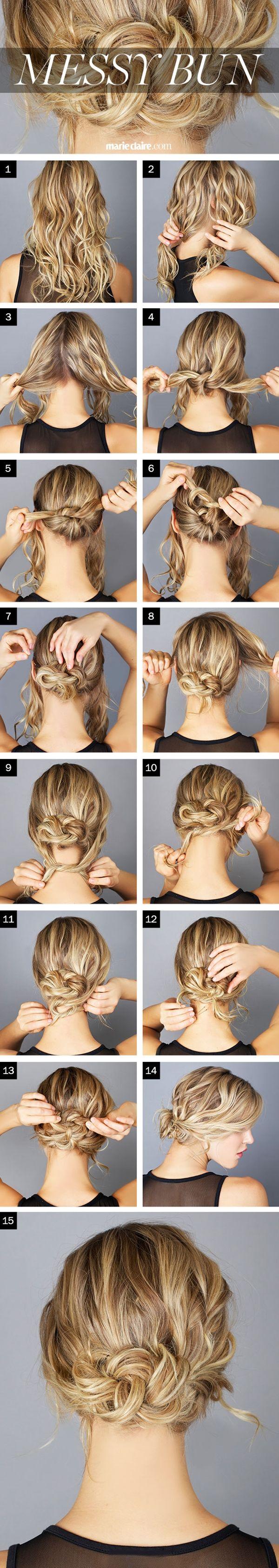 rapide-facile-retour-école-à-coiffure- cheveux longs