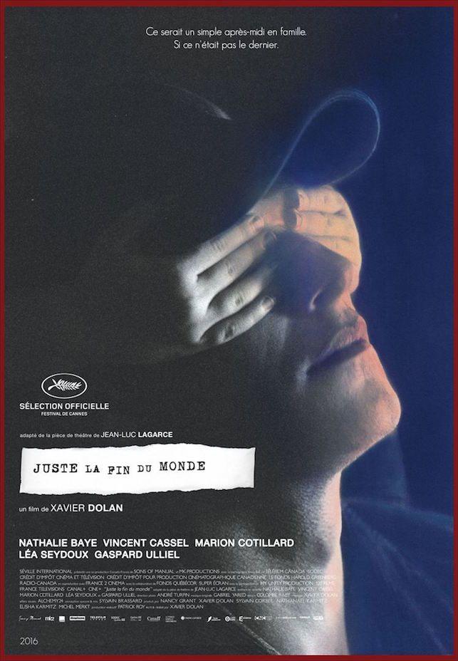 #Cannes2016/ Critique de Juste la Fin du Monde de Xavier Dolan également compétition