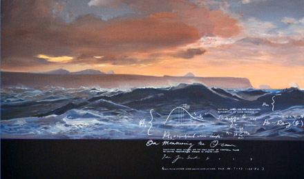OREXART - Exhibitions - On Measuring the Ocean - Peter James Smith