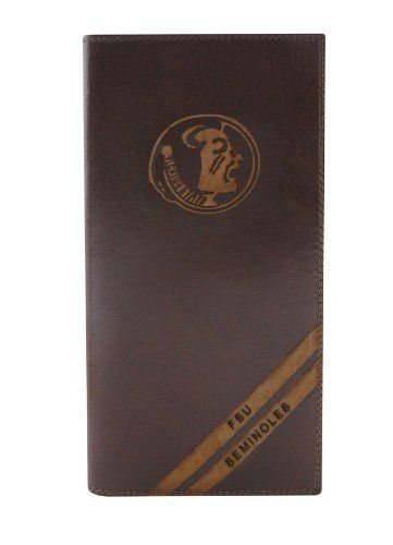 NCAA Florida State Seminoles Zep-Pro Pull-Up Leather Long Secretary Embossed Wallet, Brown by ZEP-PRO. NCAA Florida State Seminoles Zep-Pro Pull-Up Leather Long Secretary Embossed Wallet, Brown.