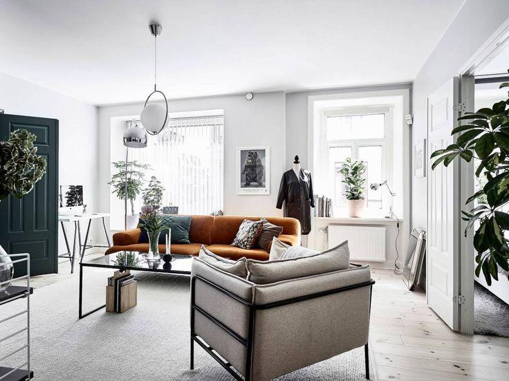 Ένα minimal διαμέρισμα στη Σουηδία. - More Trends