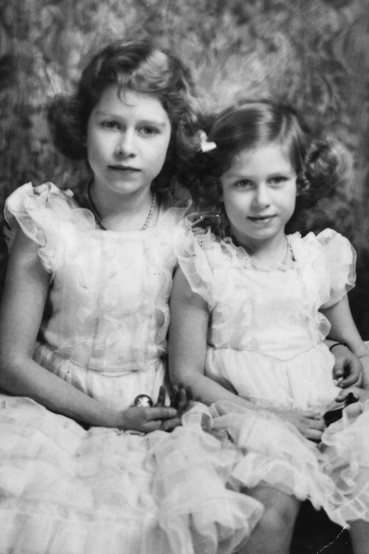 Princess Elizabeth and Princess Margaret Rose