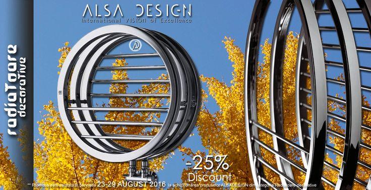 Promotie ALSA DESIGN 23-29 august 2016 http://www.alsadesign.ro/…/radiatoare-decora…/afiseaza-toate