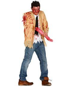 Kostuum geamputeerde zombie voor mannen