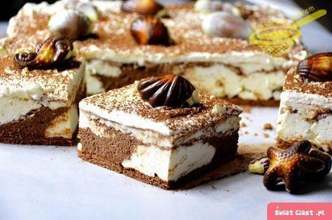 """ciasto """"Plaża"""" (bez pieczenia) - Swiatciast.pl"""