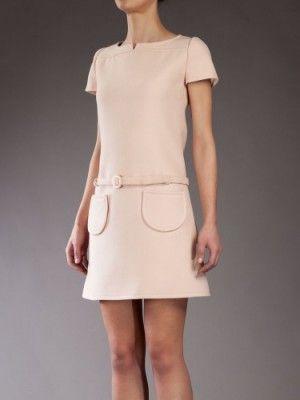 Courreges Vintage Wool Dress