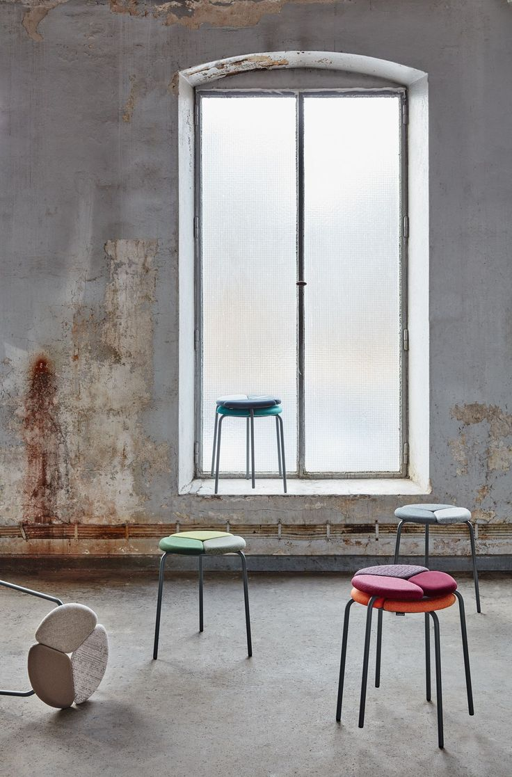 Patch stool, design: Mia Cullin, Axel Bjurström | Styling: Katrin Bååth | Photo: Sara Landstedt