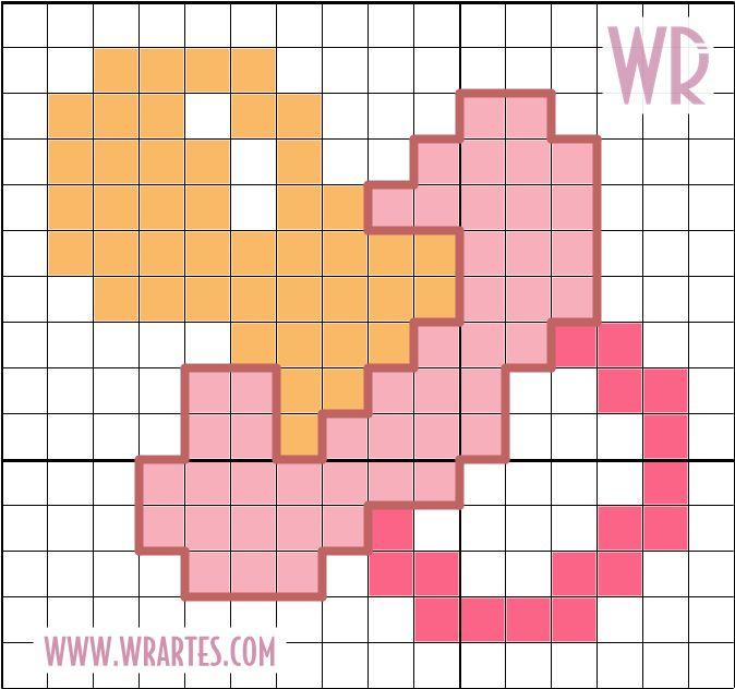 chupeta+ponto+cruz+grafico+facil+bebe.png (674×632)