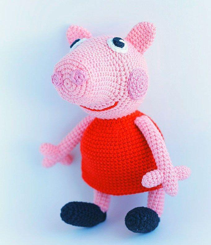 Peppa pig crochet pattern – free
