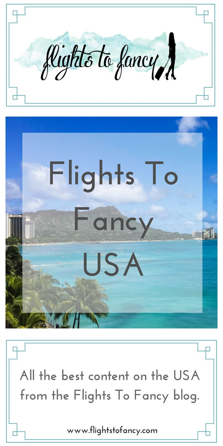 All the best content on the USA from the Flights To Fancy blog.