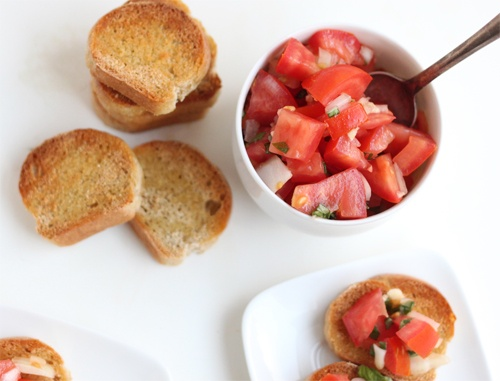 Bruschetta: Olives Oil, Flour, Kitchens Originals, Than, This Summer, Tasti Recipes, Appetizers, Happen, Bruschetta