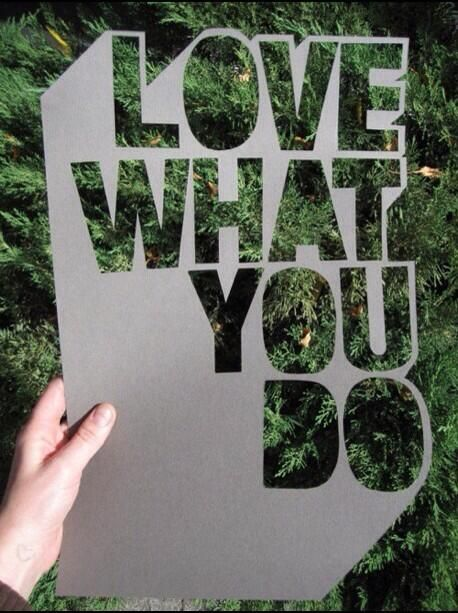 Twitter / actionhappiness: Love what you do. Spend more ...