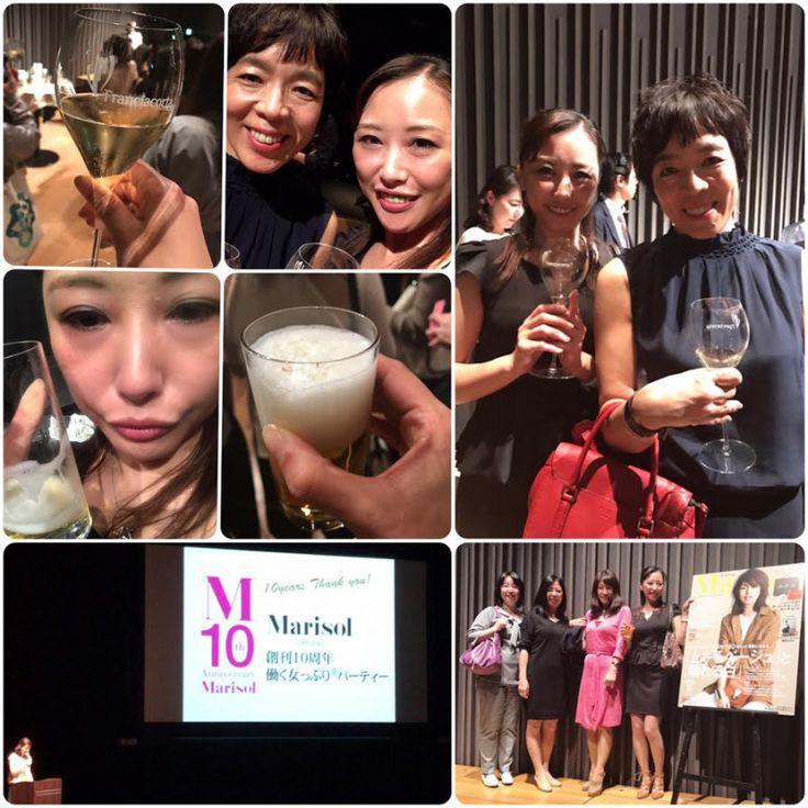 Marisol創刊10周年!働く女っぷりパーティー♬|SHOOP+FACTORY(シュープ・ファクトリー)@オーナーブログ