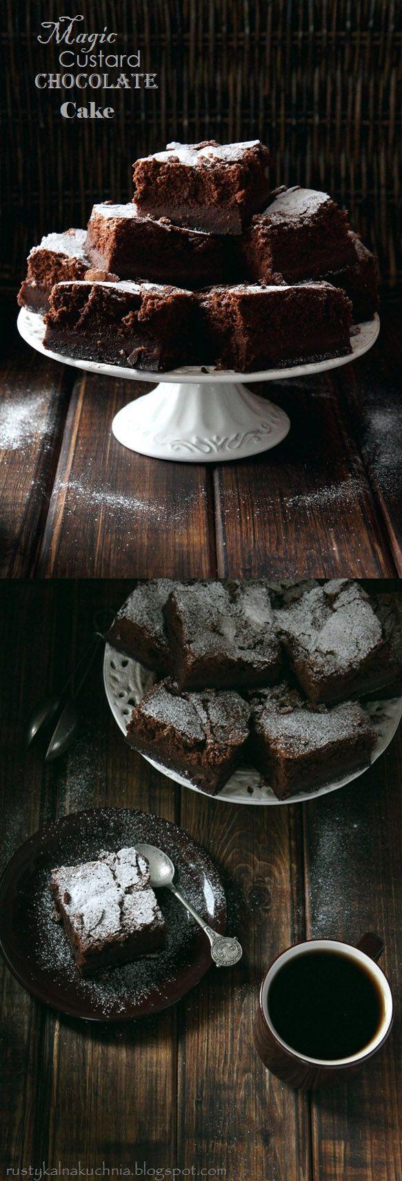 Pecados de Reposteria Pastel mágico de chocolate - Pecados de Reposteria