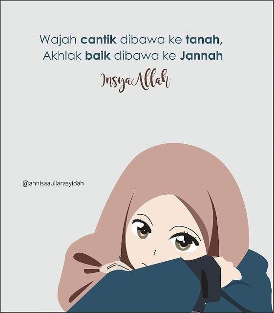 Gambar Kartun Muslimah Terbaru Puisina Kartun Muslimah Muslim