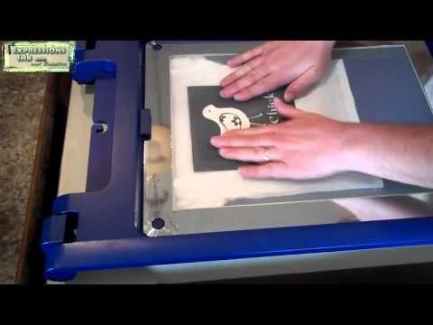 cheap yudu screen printing machine
