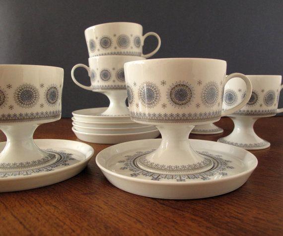 1963 Tapio Wirkkala Eisblume design for Rosenthal Studio Line rare coffee…