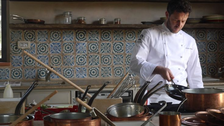 A Special Cooking Lesson with Chef Andrea Mattei
