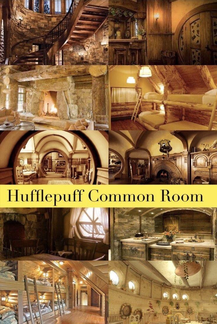 Aesthetics And Playlists Hogwarts House Common Rooms Hufflepuff Hogwarts Houses Harry Potter Houses