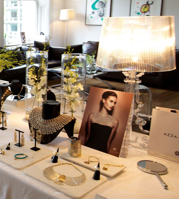 Azza Fahmy Event styled by Bettina Vetter and Emma Cuthbert, bandem.co.uk