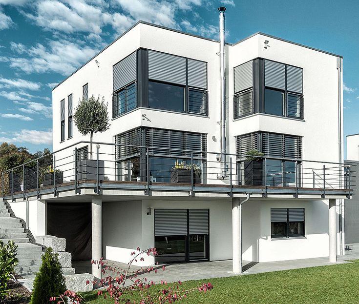 die besten 25 hausfassade farbe ideen auf pinterest moderne hausfarben fassade haus und. Black Bedroom Furniture Sets. Home Design Ideas