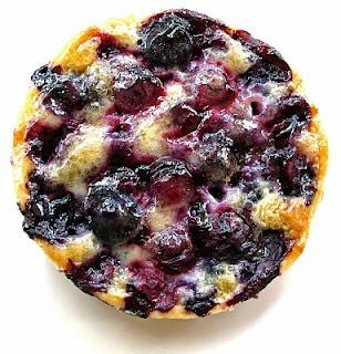 blueberry butter tart