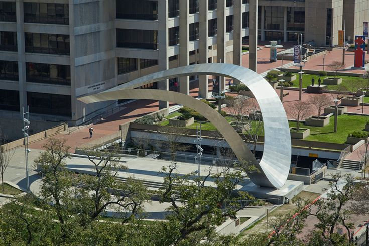 The Crest Is An Iconic Public Sculpture For Baton Rouge