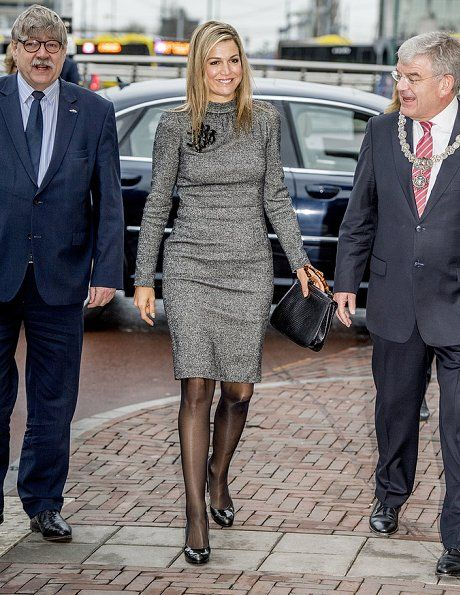 On February 22, 2017, Dutch Queen Maxima opens first Buzinezz Forum at the Social Impact Factory in Utrecht, NL.