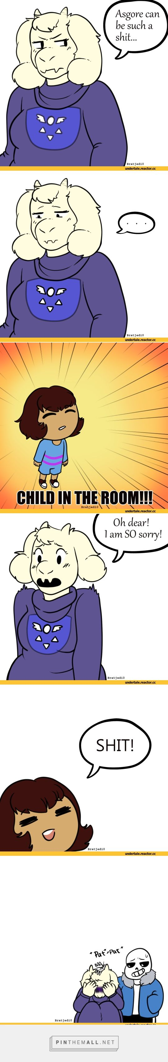 Sans :: Frisk :: Toriel :: Undertale :: Aftertale - created via https://pinthemall.net