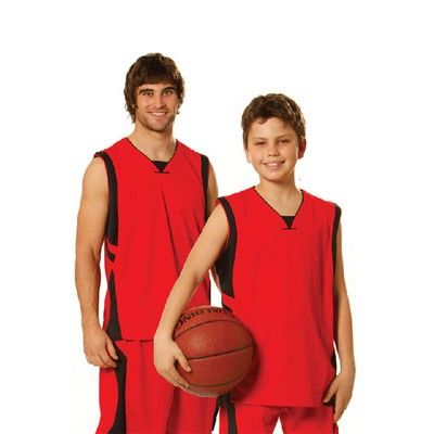 Kids Cooldry Basketball Singlet Min 25 - Clothing - Sports Uniforms - Basketball Teamwear - WS-TS83K1 - Best Value Promotional items including Promotional Merchandise, Printed T shirts, Promotional Mugs, Promotional Clothing and Corporate Gifts from PROMOSXCHAGE - Melbourne, Sydney, Brisbane - Call 1800 PROMOS (776 667)