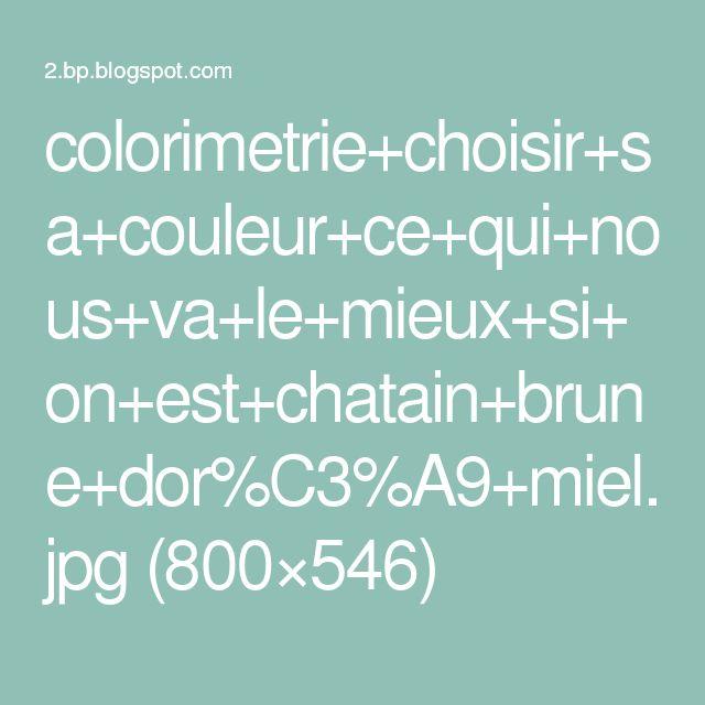 colorimetrie+choisir+sa+couleur+ce+qui+nous+va+le+mieux+si+on+est+chatain+brune+dor%C3%A9+miel.jpg (800×546)