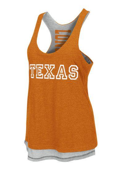 Texas Longhorns Womens Tank Top http://www.rallyhouse.com/shop/texas-longhorns-womens-tank-top-orange-texas-duo-sleeveless-shirt-15033073?utm_source=pinterest&utm_medium=social&utm_campaign=Pinterest-TexasLonghorns $34.99