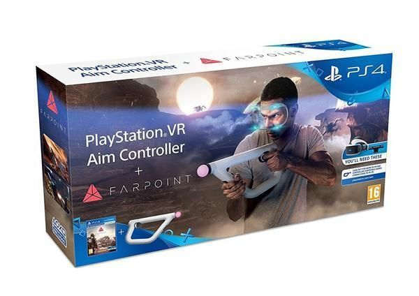 Farpoint VR inkl. Aim Controller (PlayStation VR) für PlayStation 4