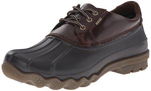 Sperry Top-Sider Men's Avenue Duck 3-eye Winter Boot, Black/Amaretto, 10.5 M US - http://authenticboots.com/sperry-top-sider-mens-avenue-duck-3-eye-winter-boot-blackamaretto-10-5-m-us/