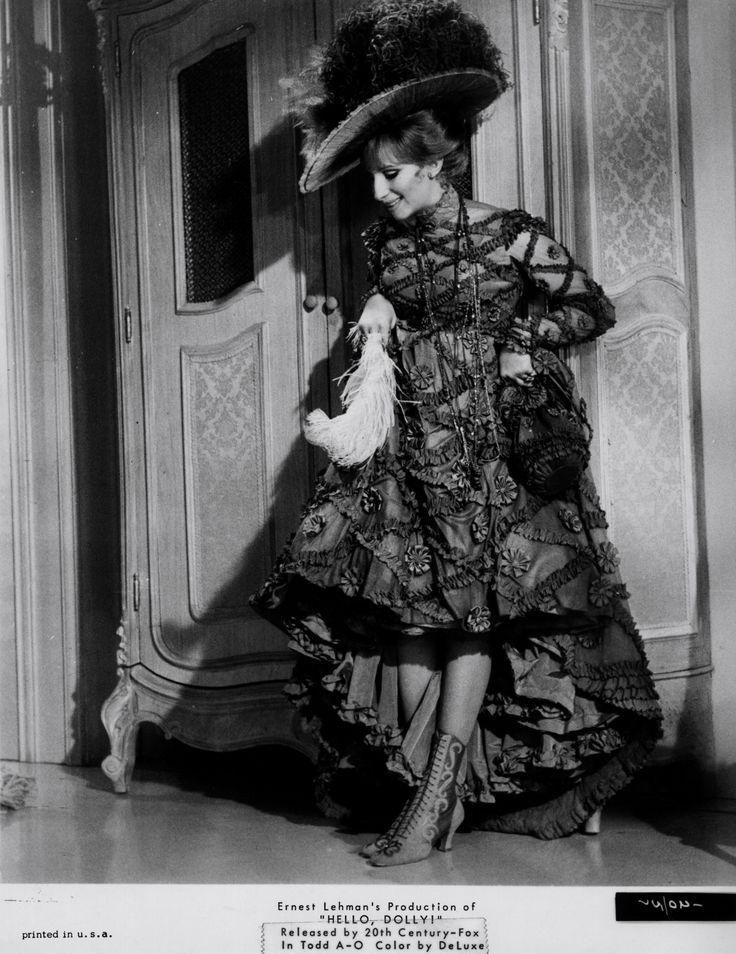 Lyric barbra streisand hello dolly lyrics : 22 best Hello Dolly Stills images on Pinterest | Hello dolly ...