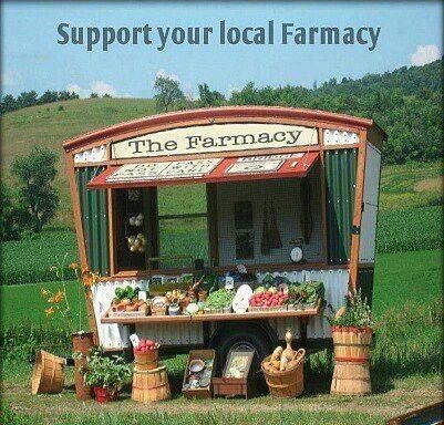 Buy local. Support the farmers!