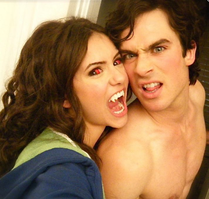 Ian Somerhalder and Nina Dobrev split up? We're in shock! We just can't believe our beloved Vampire Diaries showmance couple has broken up. Somehow we're hoping this report can't possibly be true, but all signs do seem to be pointing to an official Nina Dobrev and Ian Somerhalder breakup for rea...
