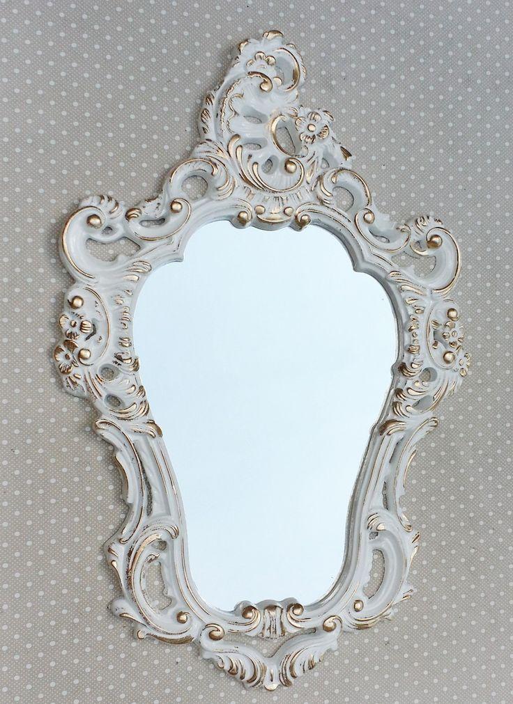 Espelho Veneziano com Moldura de Resina Provençal dourado/ Ouro provençal Medidas: 70 x 46 cm Confecciono na cor desejada! Decore com Estilo!