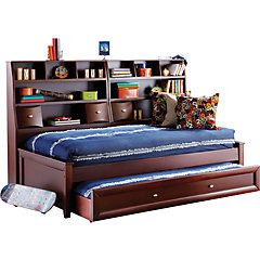 Ivy League 7 Pc Twin Daybed Bedroom - Twin Bedroom Sets  Don't love the color but love the bookcase bed