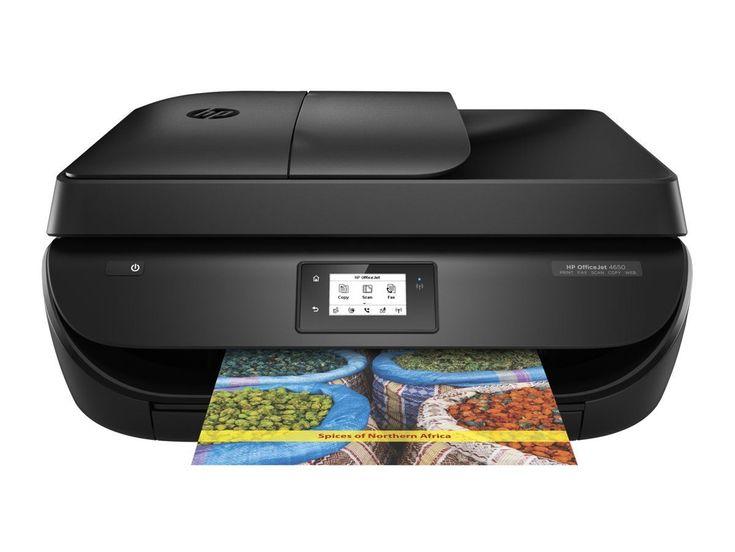 HP Officejet 4650 e-All-in-One Wireless Printer Scanner Copier Fax - sr | eBay