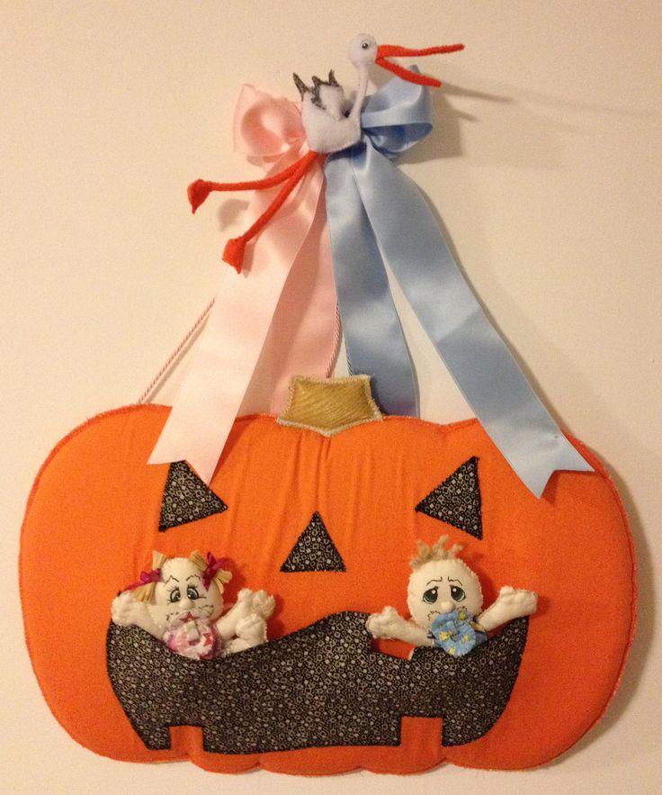 fiocco nascita gemelli ottobre