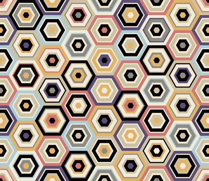 papier peint autocollant sur mesure motif hexagonal. Black Bedroom Furniture Sets. Home Design Ideas